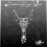 Diamond Dragon Necklace by Gloree