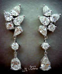 Diamond Earrings by Gloree