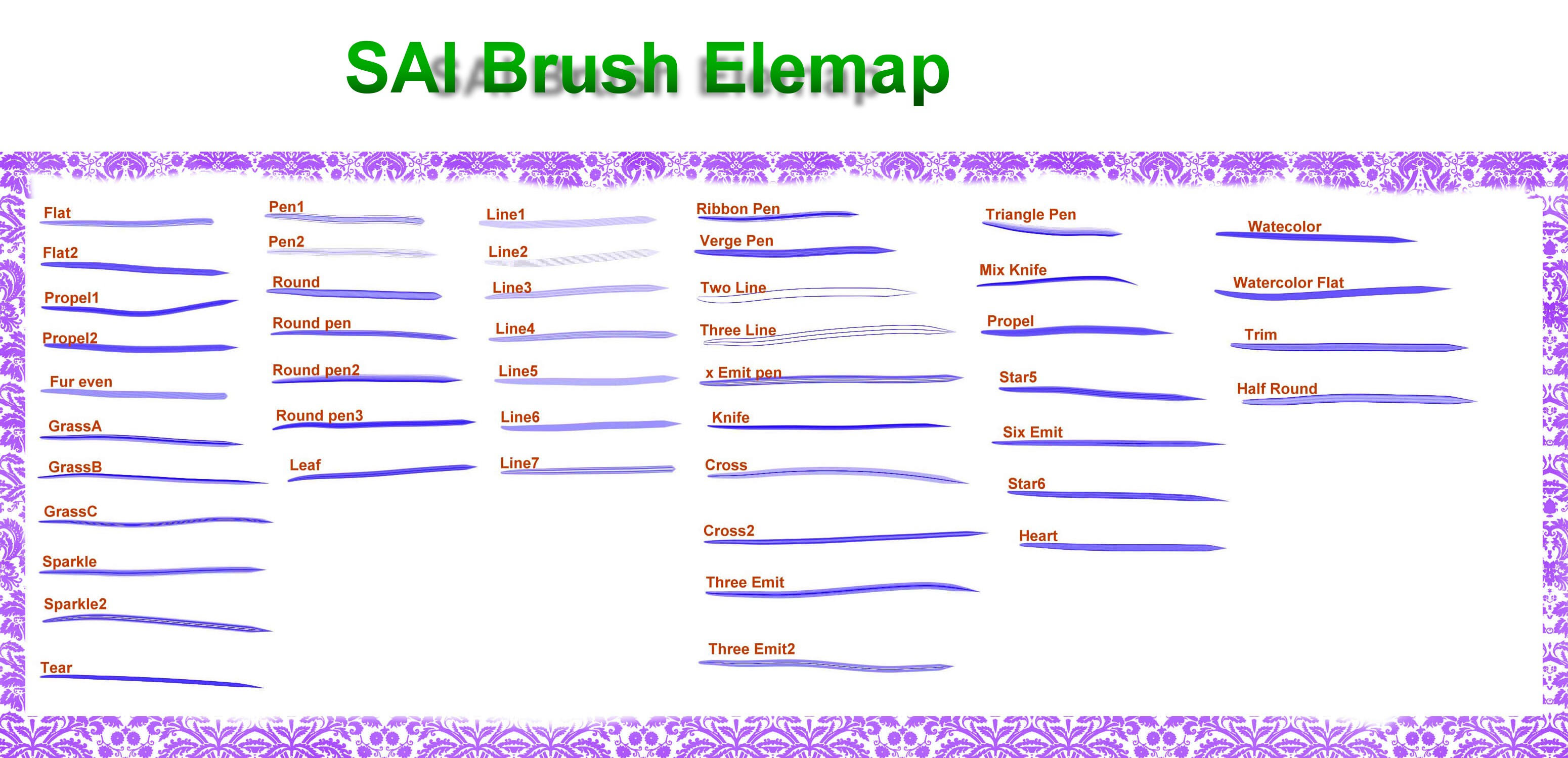 SAI Brush---elemap by chatenoir