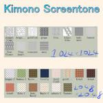 Kimono Screentone