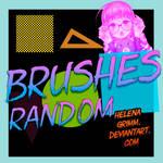 Brushes random