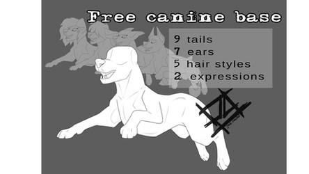 FREE Canine Base bundle by JackLoaded1994