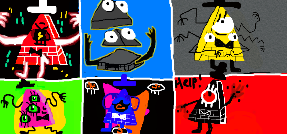 Bill Cipher All Death Forms By Billcipher2000 On Deviantart