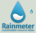 Blue Rainmeter Logo by poiru