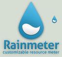 Blue Rainmeter Logo