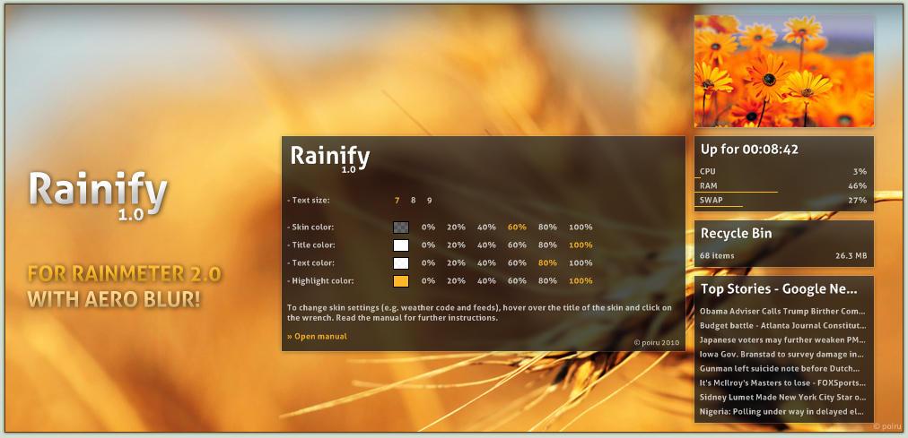 Rainify 1.0.1 by poiru