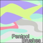 Pentool-Brushes by awaywiththestorm
