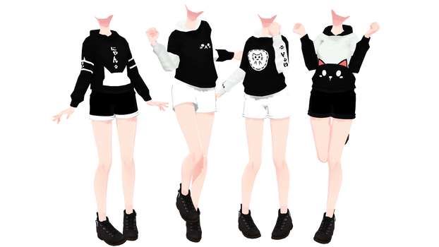 Cat's Theme Outfit [DL+] by Clokun