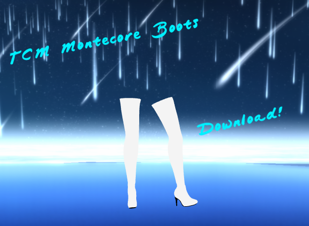 TCM Montecore Heels Download! by TheChaoticMuffin
