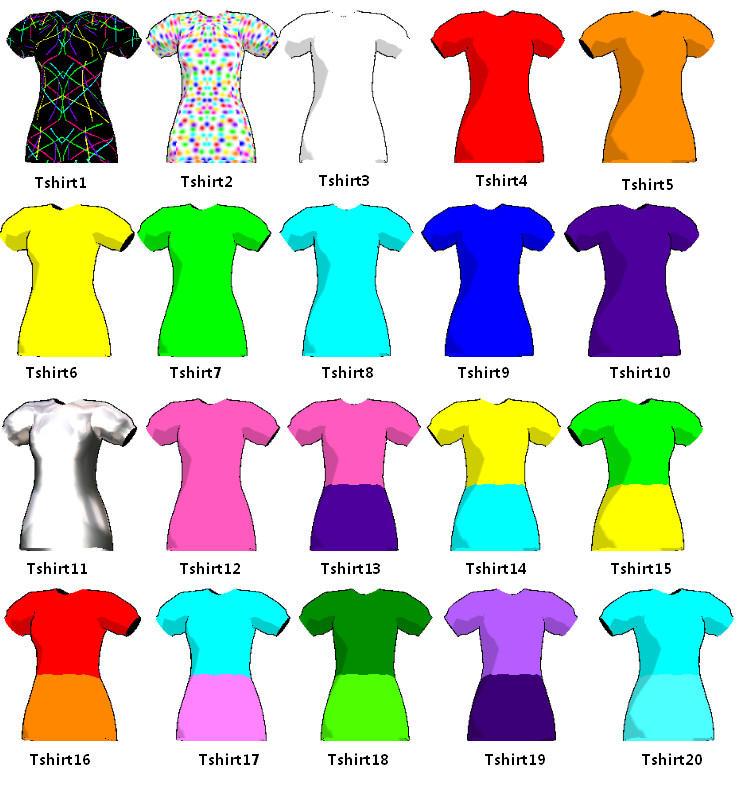 MMD-Shirts 4 juu by Shioku-990