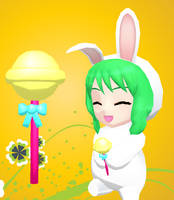 MMD-Cute lollipop DL by Shioku-990