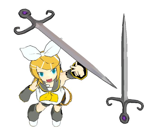 MMD-Sword Download by Shioku-990