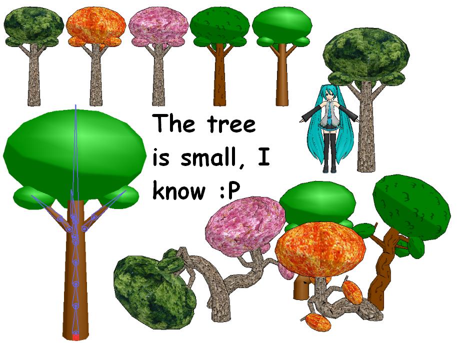 MMD- Tree Download by Shioku-990