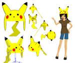 MMD-Pikachu Hat DL