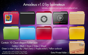 Amadeus icon set v1.0 - Colourize Windows Folder by bolmeteux