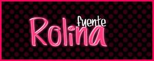Rolina .-Font