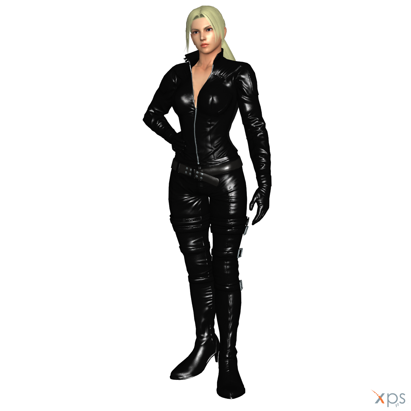 Tk7 Nina Williams Leather Outfit By Loriscangini On Deviantart
