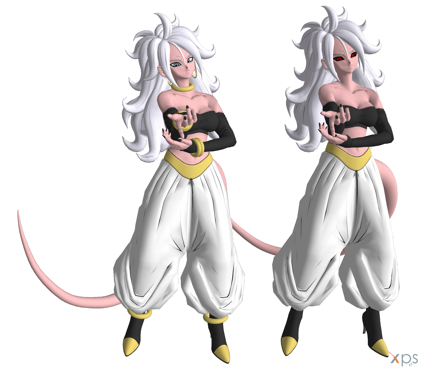 Dragon Ball Android 21: Android 21 (True Form) By LorisCangini On DeviantArt