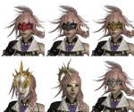 LR:FF13 - Adornments Pack - Masks 1 by LorisCangini