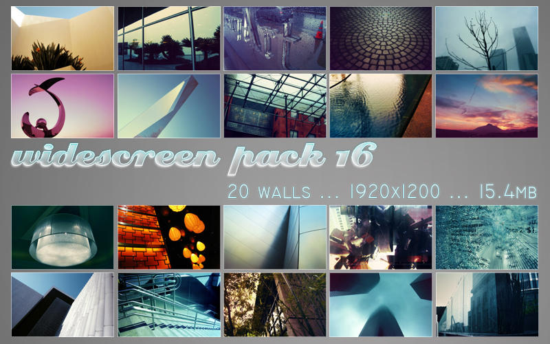 widescreen pack 16 by ether