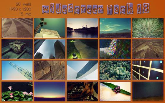 widescreen pack 18