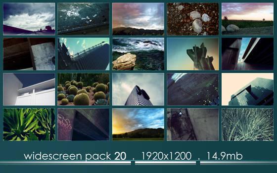 widescreen pack 20