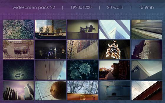 widescreen pack 22