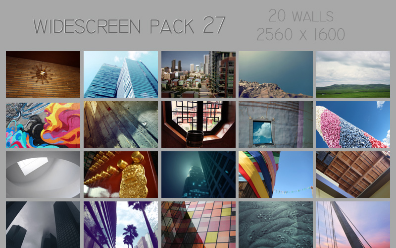 widescreen pack 27 by ether