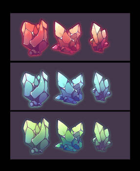 Free source crystal icons