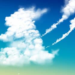 Anime Style Cumulus Cloud Brush (CSP)