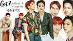 Got7 Jaebum Yugyeom Allure Magazine PNG Pack
