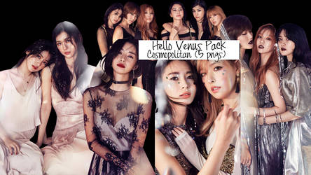 Hello Venus Cosmopolitan Magazine PNG pack by SS by soshistars