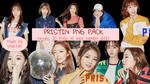 PRISTIN PNG PACK Pledis Girlz by soshistars