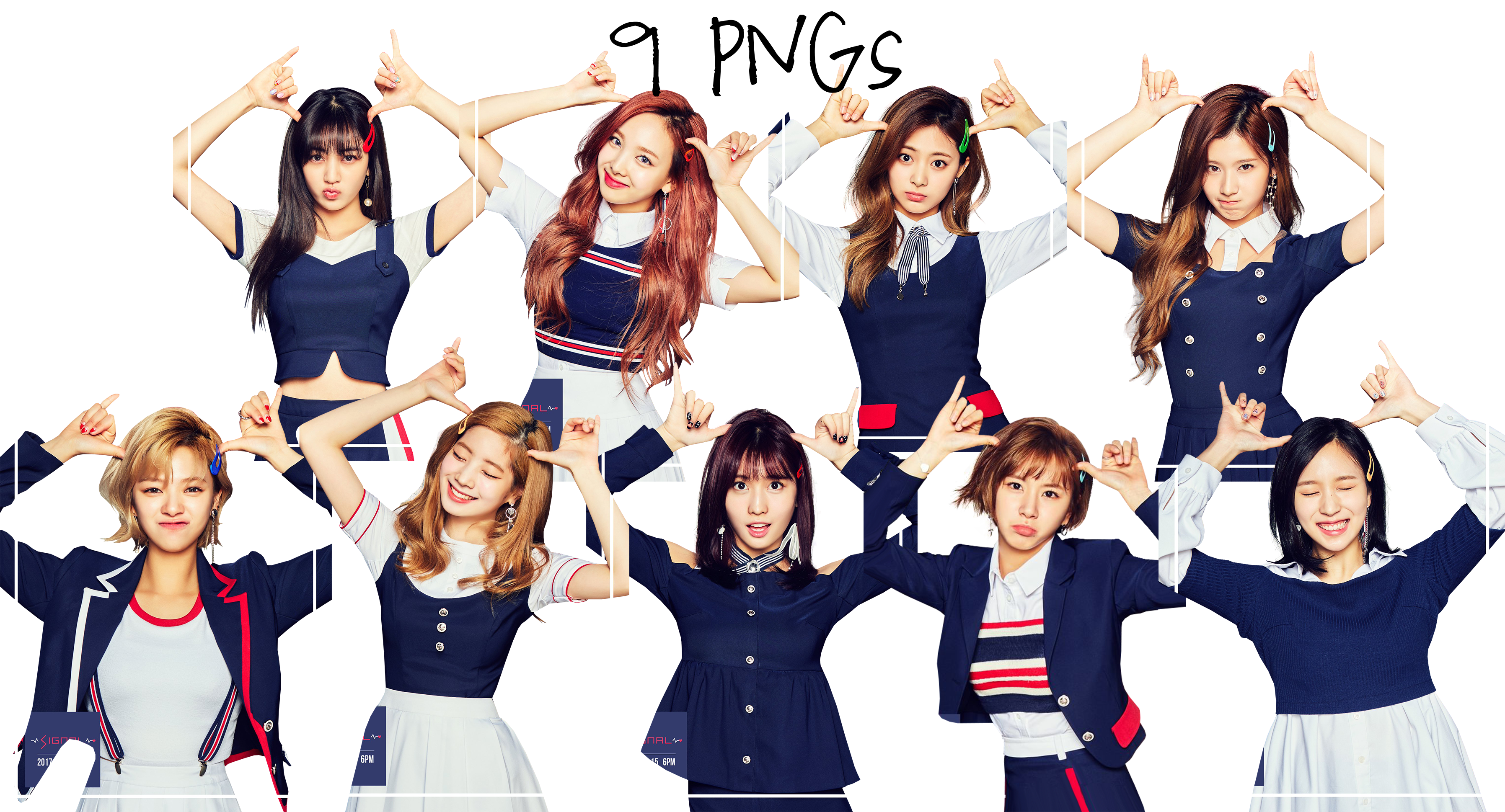 Twice explore twice on deviantart twice png pack signal 2017 hd by soshistars stopboris Image collections