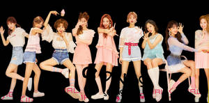 TWICE PNG Pack #3 {Signal 2017} HD