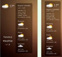 Tonxico Weather 1.3 by Tonxico