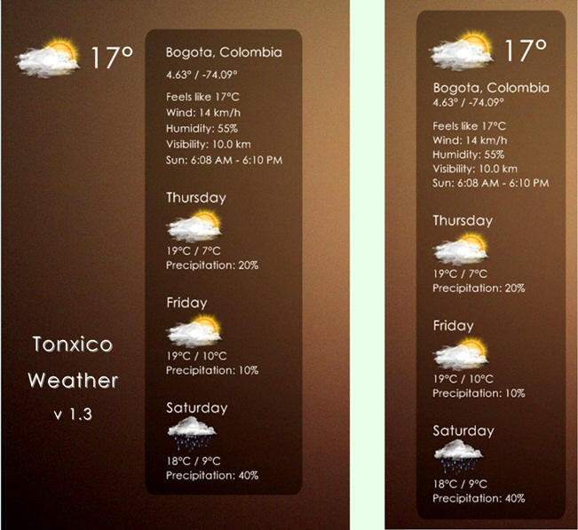 Tonxico Weather 1.3 by Tonxico