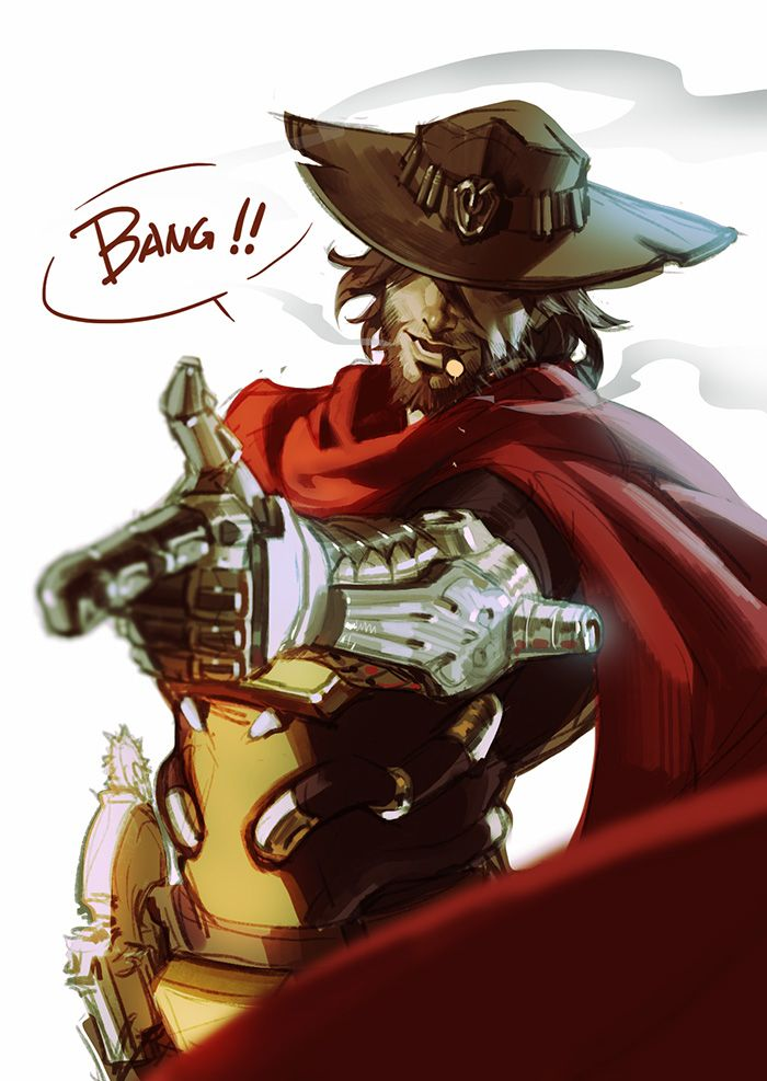 Physically and Mentally (Y!Jesse McCree x Reader ) by