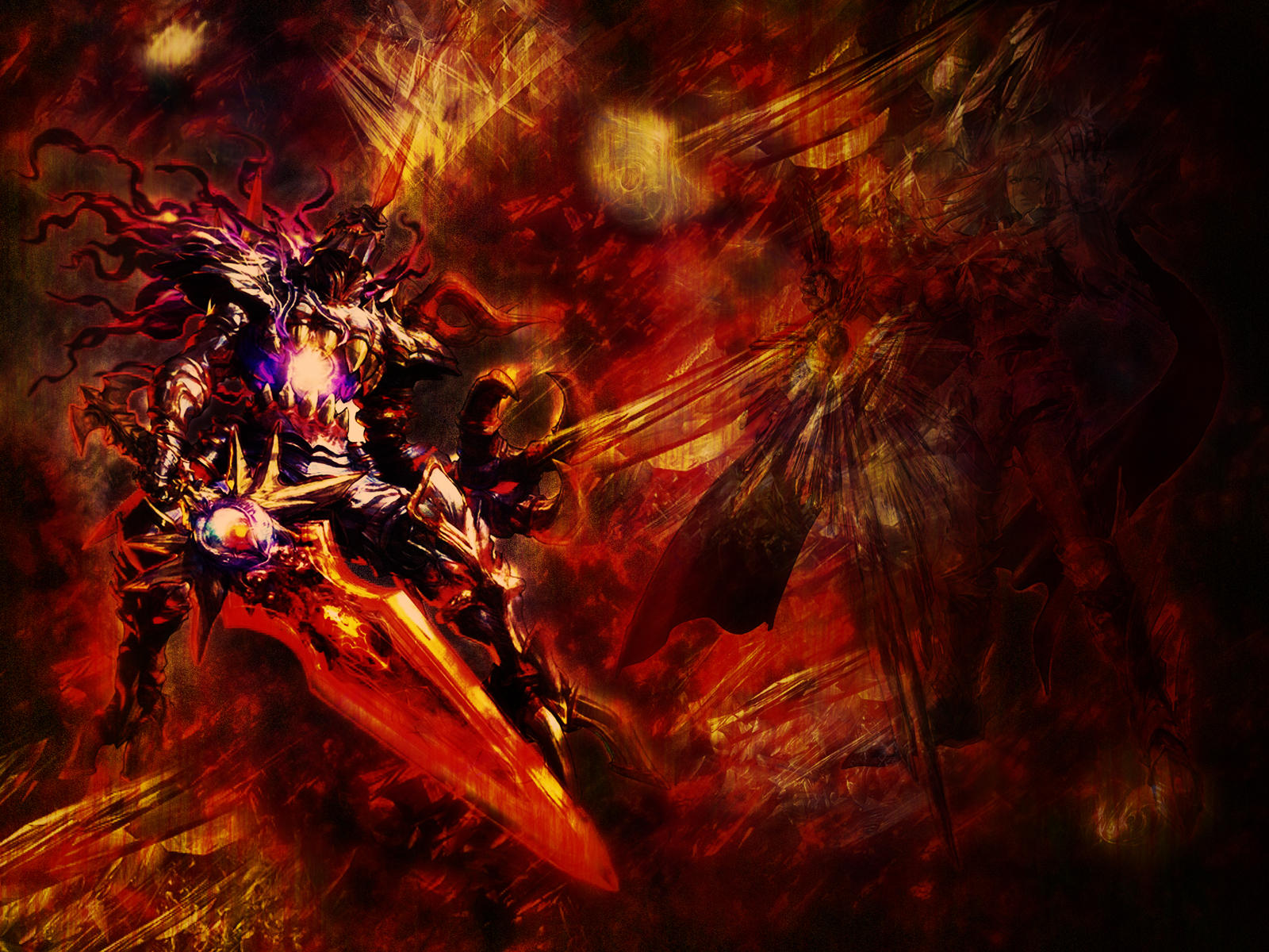 Soul Calibur: The Dark by azurewrath87