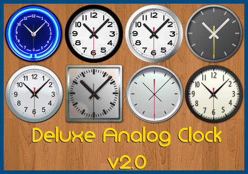 Deluxe Analog Clock v2.0