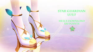 MMD DL|| Star Guardian Lulu Heels|| 100 Points by Polygon-P