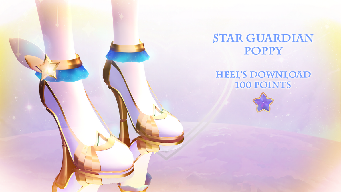 Mmd Dl Star Guardian Poppy Heels 100 Points By Polygon