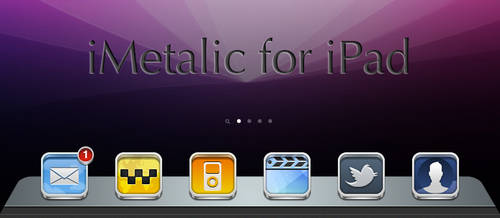 iMetalic Dock for iPad