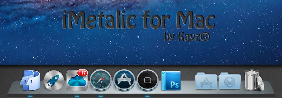 iMetalic Dock for Mac by Kayz-R