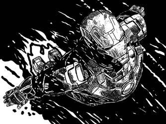 Ironman by ladyjart