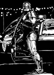 Robocop by ladyjart
