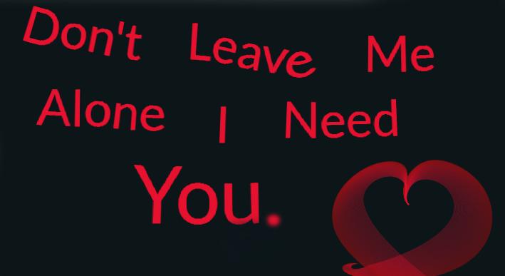 Dont Leave Me Alone I Need You By Jenny Neko On Deviantart
