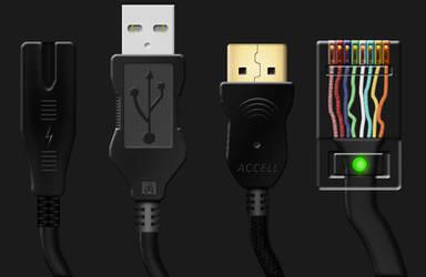 PC Cables by Harry-Paraskeva