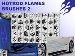 Hotrod flames brushes 2