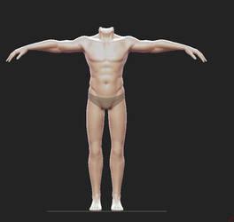 Male Base Sculpt by Dmeville